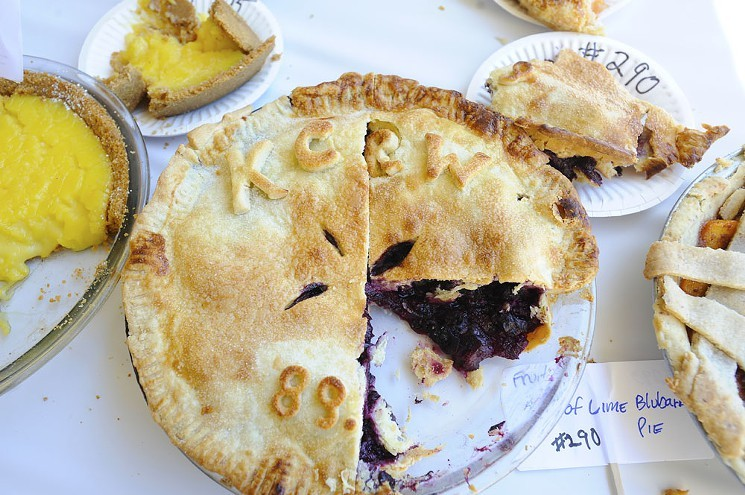 A bevy of pie tasting and making awaits attendees of the KCRW Good Food Pie Contest.