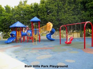 Blair Hills Park Playground Improvement Project @ Blair Hills Park