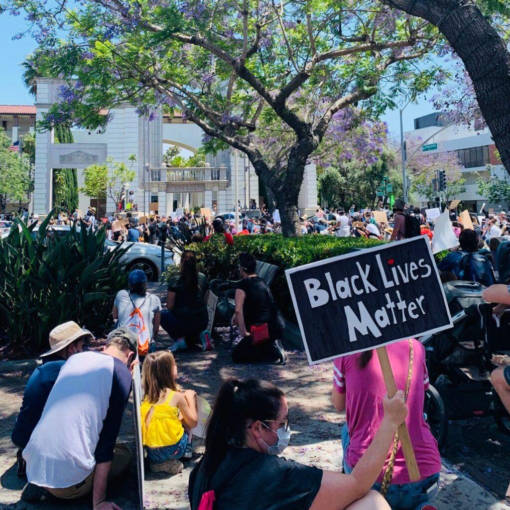 Black Lives Matter Protest in Culver City